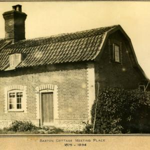 Barton Cottage 1800s