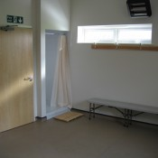 Home changing room