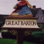Great Barton Village Sign (original cica 1978)