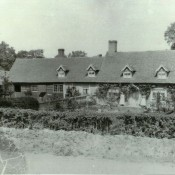 Rose Cottage before 1909 now called the Forge